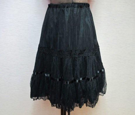 Emily Temple Cute Flower Lace Skirt